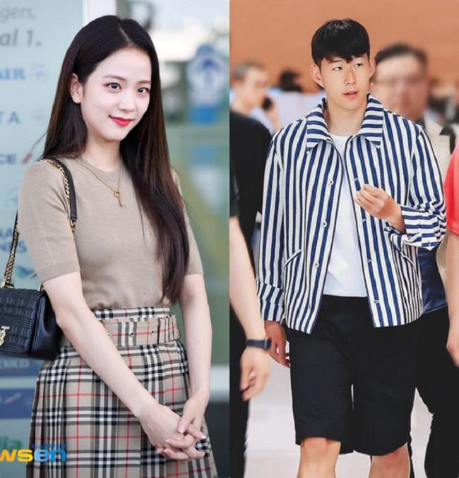 Vừa qua, truyền thông Hàn Quốc rộ lên thông tin Son Heung Min đang bí mật hẹn hò với nữ ca sỹ đình đám Kim Jisoo.