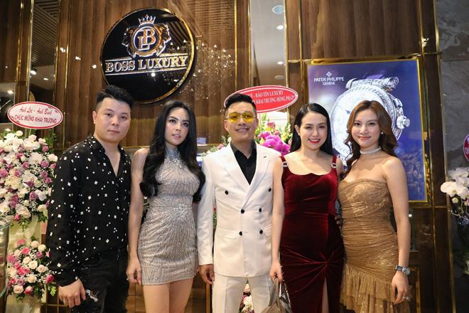"""Dàn khách mời """"khủng"""" mừng khai trương Boss Luxury cơ sở 2 tại TP. Hồ Chí Minh - 1"""
