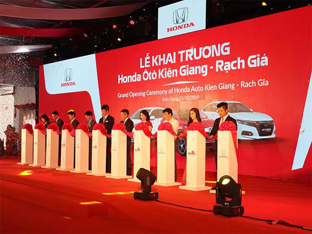 Honda Việt Nam mở rộng thị trường Đồng bằng Sông Cửu Long - Khai trương Honda Ôtô Kiên Giang - Rạch Giá