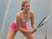 """""""Thánh nữ"""" tennis 17 tuổi 1m85 đẹp hơn cả Sharapova-Kournikova gây sốt 2019"""