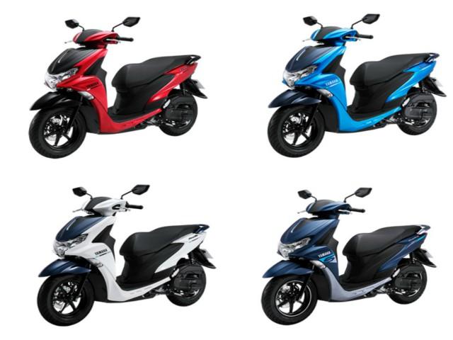Bảng giá 2 phiên bản, 6 màu sắc của Yamaha FreeGO mới nhất