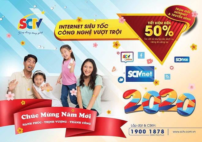 SCTV gửi ngàn lời tri ân, mừng Xuân Canh Tý 2020 - 1