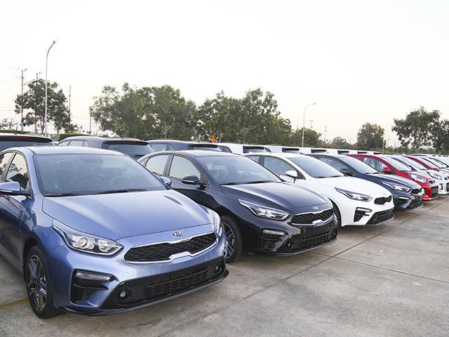 THACO xuất khẩu lô xe Kia Cerato sang thị trường Myanmar