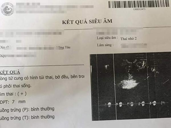 Bé gái 15 tuổi làm giả giấy khám thai để níu kéo tình cảm - 1