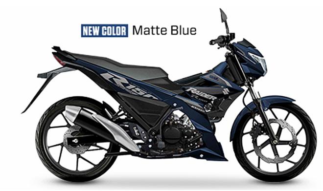 """Suzuki Raider R150 hoàn toàn mới về Đông Nam Á, thêm tùy chọn """"màu áo"""" mới - 1"""