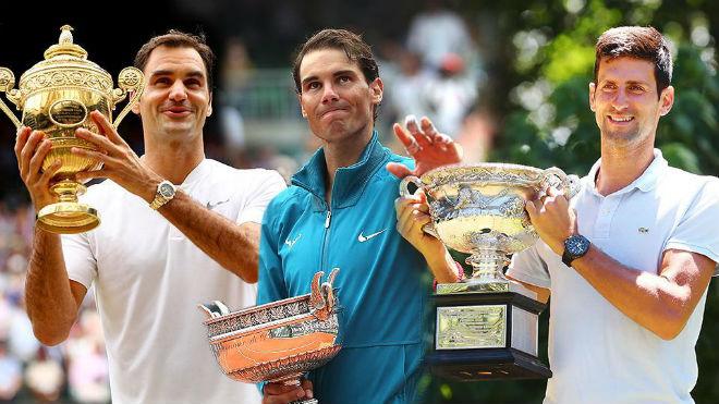 """Siêu kỳ tích tennis thập kỉ: Federer hay ai là """"Vua của những vị vua""""? - 1"""