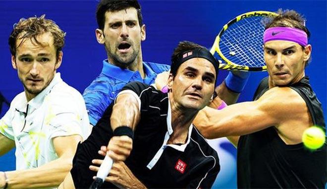 """Bảng xếp hạng tennis 2019: Nghẹt thở """"Big 3"""", Hoàng Nam rớt 251 bậc - 1"""