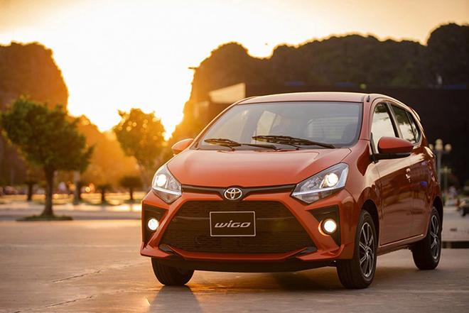 Giá xe Toyota Wigo lăn bánh mới nhất tháng 10/2020 - 1