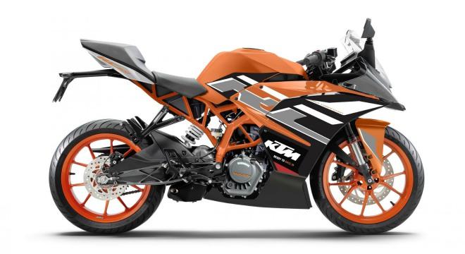 KTM RC 200 thêm màu mới, tăng thêm sức nóng - 1