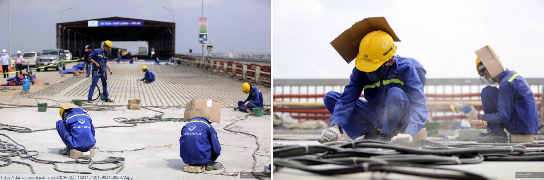 Emagazine: Ngày đêm hàn 1,5 triệu chiếc đinh lên mặt cầu Thăng Long - 7