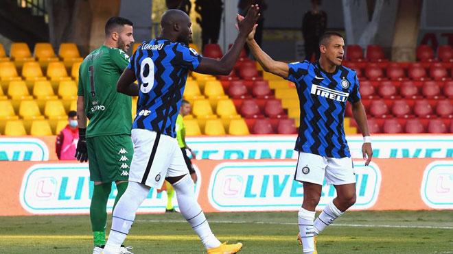 """Video highlight trận Benevento - Inter Milan: Lukaku cú đúp, """"đại tiệc"""" 7 bàn - 1"""