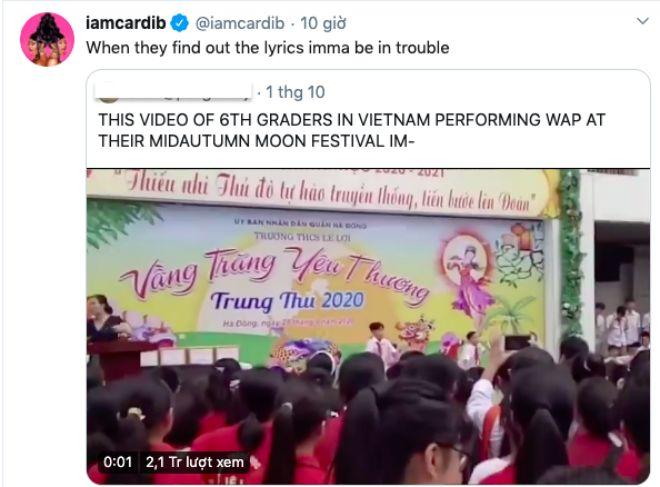 """Học sinh lớp 6 ở Việt Nam nhảy với nhạc 18+ đêm Trung Thu: Ca sĩ nổi tiếng Mỹ """"lo lắng"""" - 1"""