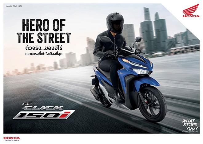 Honda Click 2021 chính thức trình làng: Giá từ 38 triệu đồng - 1