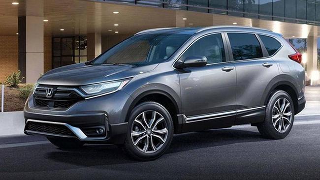 1. Honda CR-V 2020 (giá khởi điểm: 25.050 USD, điểm tổng thể: 8,7/10)