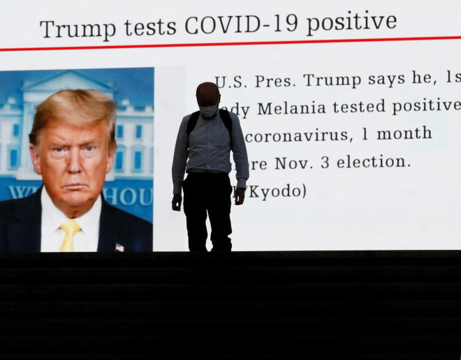Ông Trump mắc Covid-19, nước Mỹ bầu cử ra sao? - 1
