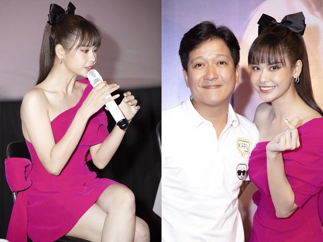 Đời sống Showbiz - Trương Quỳnh Anh khoe chân trắng nõn nà bên Trường Giang, Tiến Luật