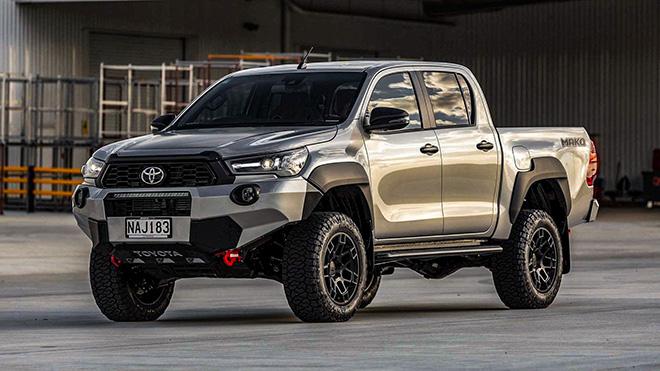Xe bán tải Toyota Hilux Mako chính thức ra mắt, hấp dẫn về ngoại hình - 1