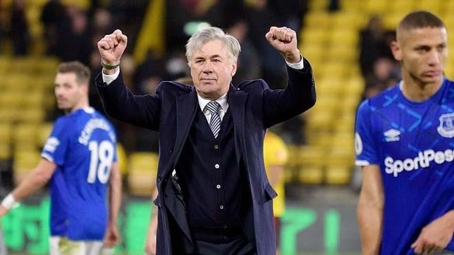 """Everton dẫn đầu Ngoại hạng Anh, MU tụt dốc: """"Quỷ Đỏ"""" có tiếc HLV Ancelotti? - 1"""