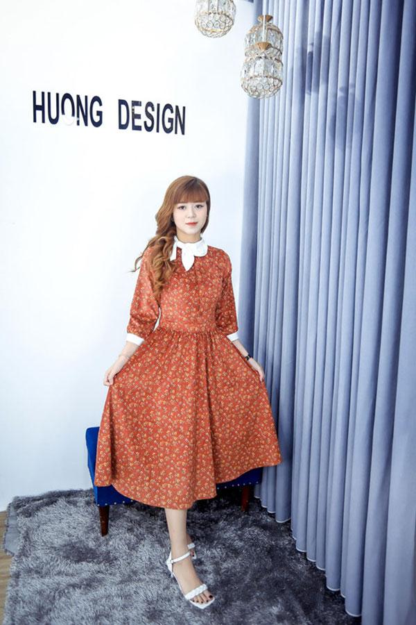 Mùa thu mặc đẹp với chương trình siêu khuyến mãi của Hương Design - 1
