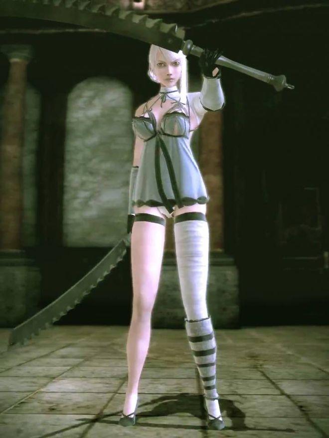 Những nhân vật nữ siêu xinh đẹp nhưng lại có giới tính rất quái đản trong game - 1