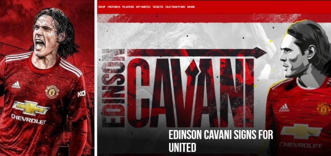 CHÍNH THỨC: MU công bố 2 tân binh, Edinson Cavani mặc áo số 7? - 1