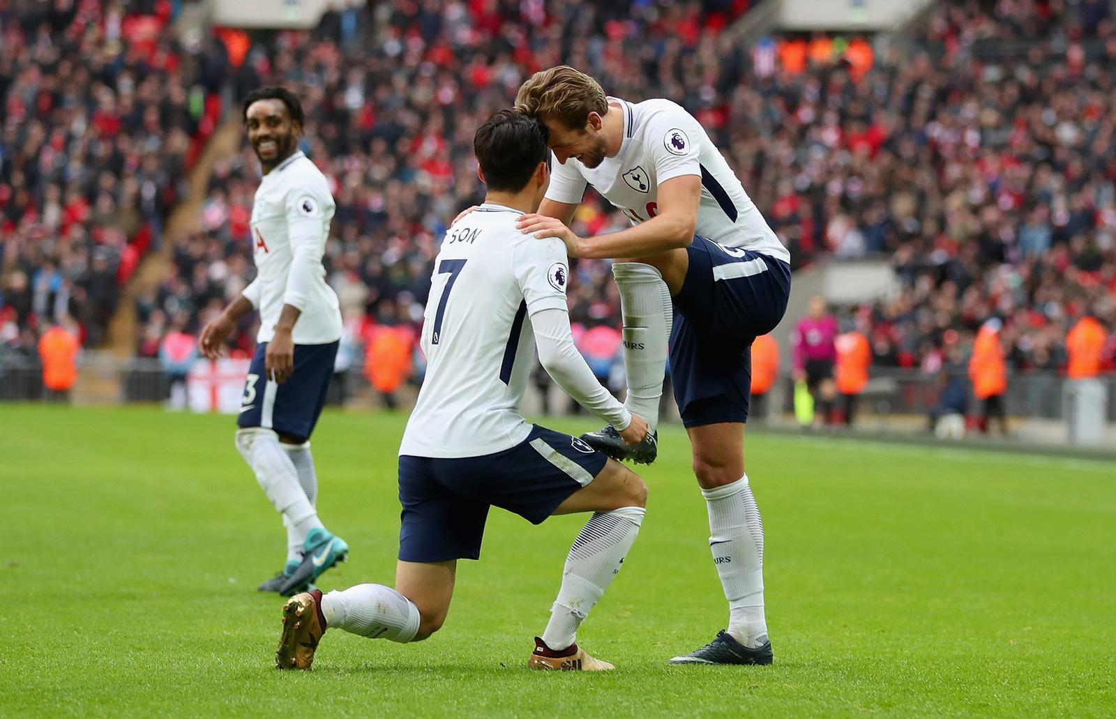 Harry Kane - Son Heung Min kết hợp hoàn hảo, Mourinho mơ vô địch Ngoại hạng Anh - 7
