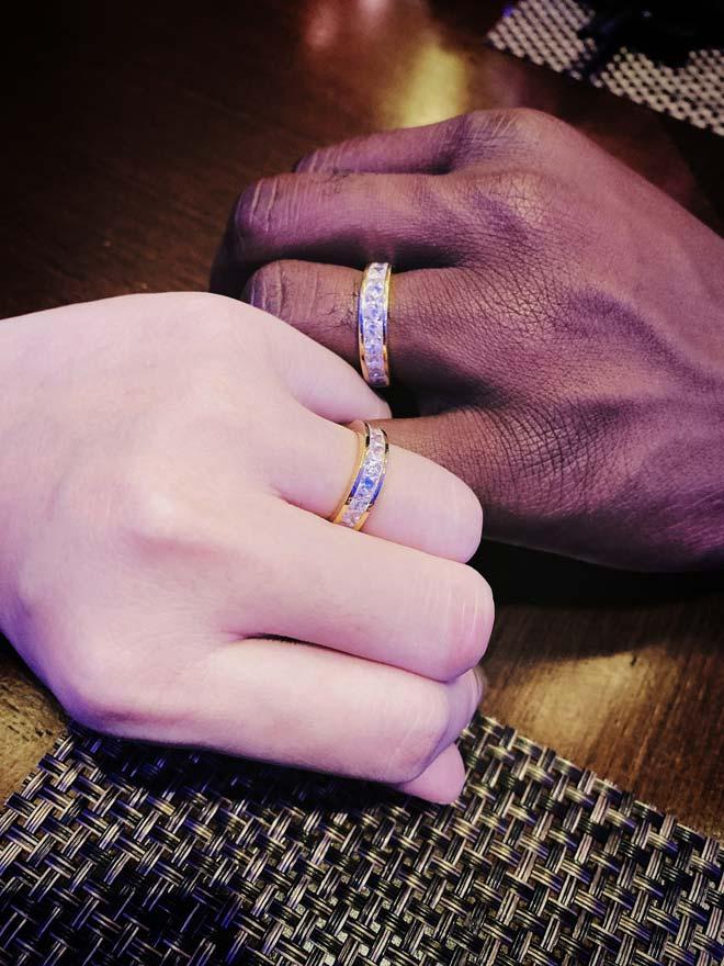 Lấy chồng châu Phi, tiểu thư Hà Nội đẹp ngất ngây trong bộ váy cưới gợi cảm - 9