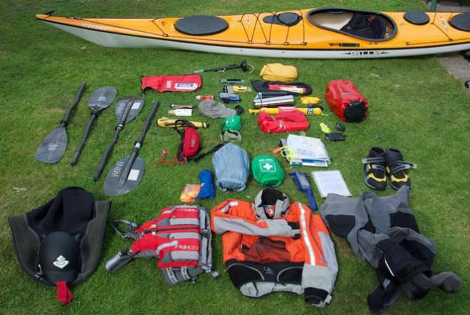 Để có chuyến chèo thuyền kayak an toàn - 1