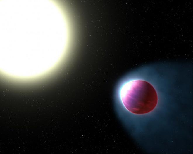 Hành tinh lạ nơi sắt và 6 thứ kim loại khác... bay trong không khí - 1