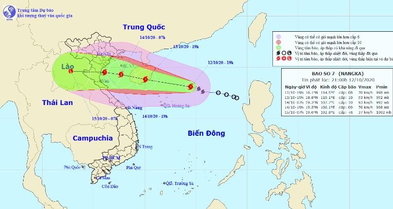 Bão số 7 đang mạnh thêm, Bắc Bộ và Bắc Trung Bộ sắp hứng mưa lớn - 1