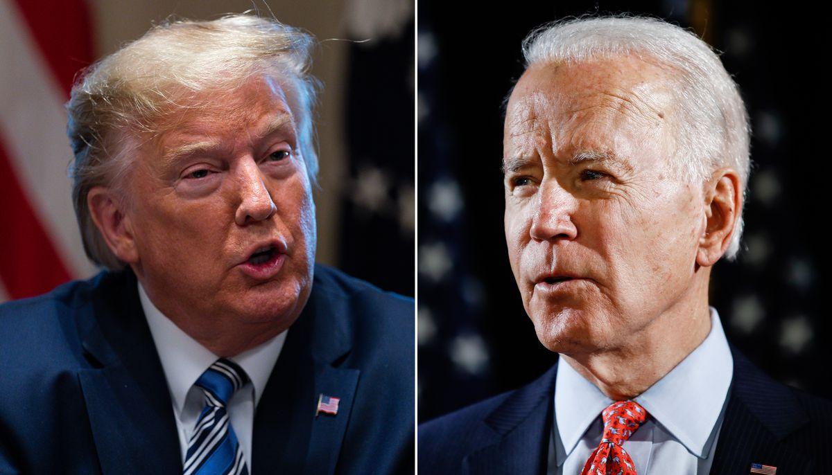 Bầu cử Mỹ: Ứng viên Biden chiếm ưu thế lịch sử trước ông Trump - 1