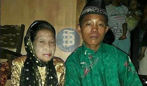 Chàng trai 16 tuổi cưới cụ bà u70, thường nhốt vợ ở nhà vì sợ bị người khác cướp mất - 1