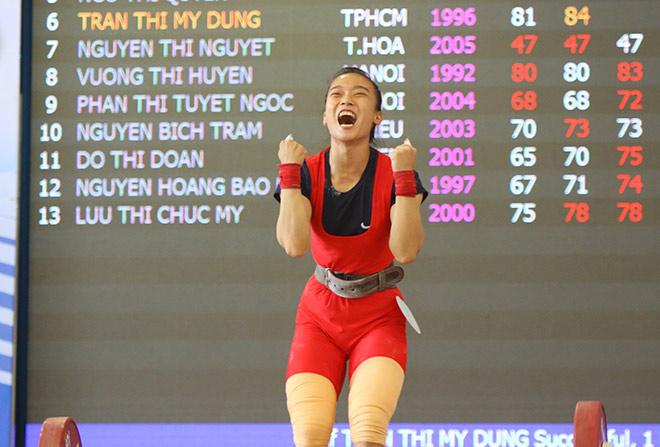 """Tranh tài phá kỷ lục, lực sỹ vô địch SEA Games thua sốc """"đàn em"""" - 1"""