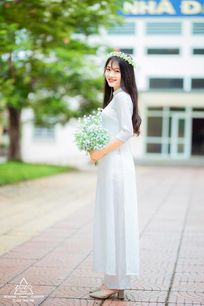 Nữ sinh xinh như hoa đạt 3 điểm 10 kỳ thi THPT Quốc gia 2020 đỗ trường nào? - 1