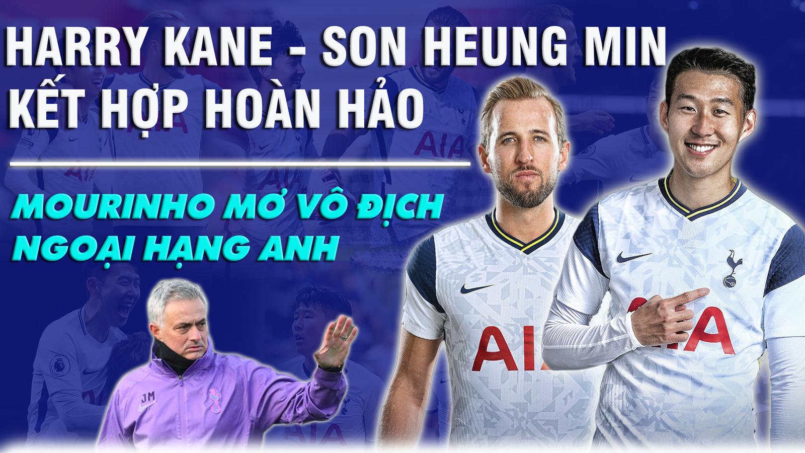 Harry Kane - Son Heung Min kết hợp hoàn hảo, Mourinho mơ vô địch Ngoại hạng Anh - 1