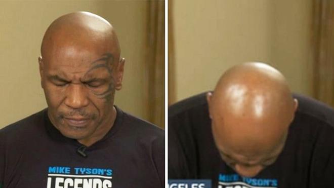 """Mike Tyson lộ """"gánh nặng"""" tuổi già: Ngủ gật khi phỏng vấn trực tiếp - 1"""