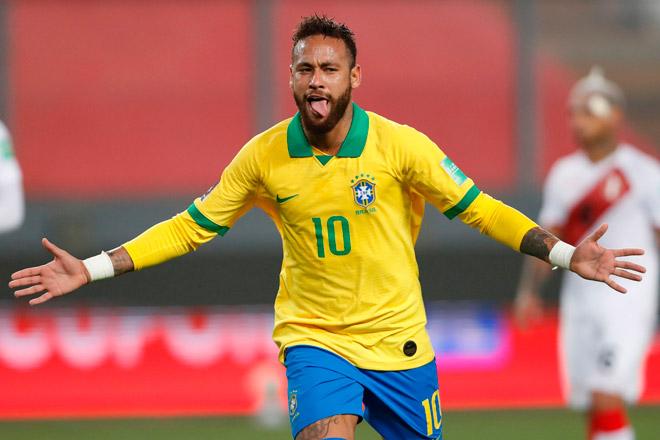 "Neymar lập hat-trick cho Brazil: Vượt Ronaldo ""béo"", chỉ kém ""vua"" Pele - 1"