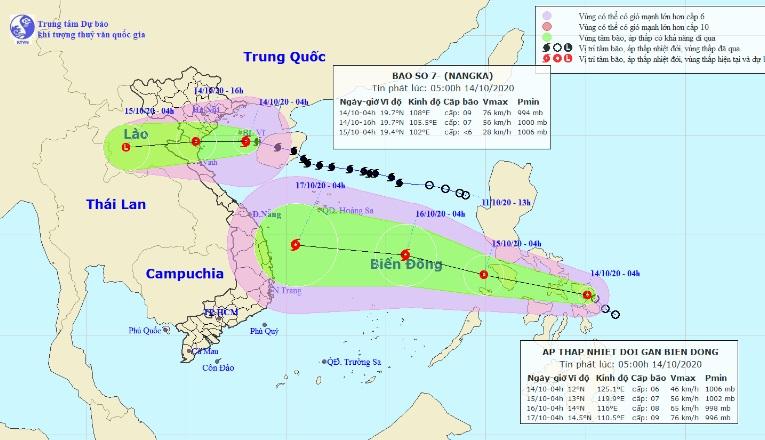 Thông tin mới nhất về bão số 7 sắp đổ bộ các tỉnh Thái Bình – Nghệ An - 1
