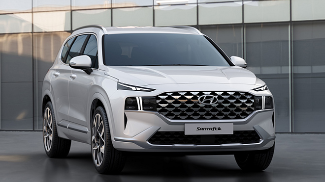 Hyundai SantaFe phiên bản nâng cấp có 4 tùy chọn động cơ tại Mỹ - 1