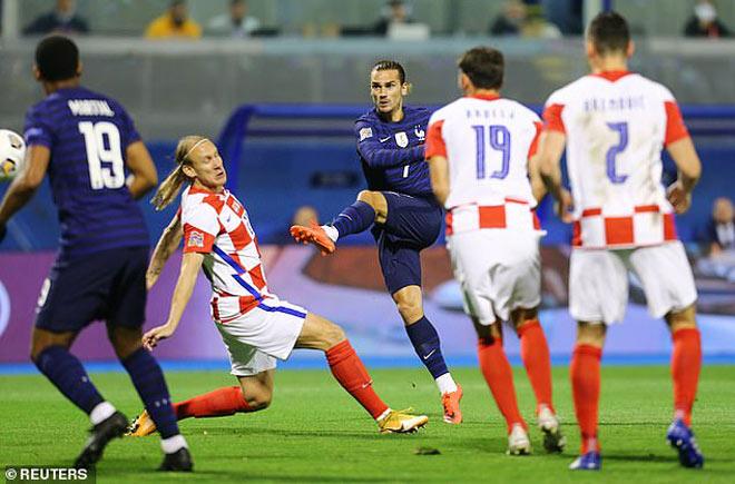 Video highlight trận Croatia - Pháp: Phủ đầu ấn tượng, vượt khó nhờ Mbappe - 1