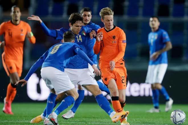 Video highlight trận Italia - Hà Lan: Sao MU lập công, ngôi đầu đổi chủ - 1