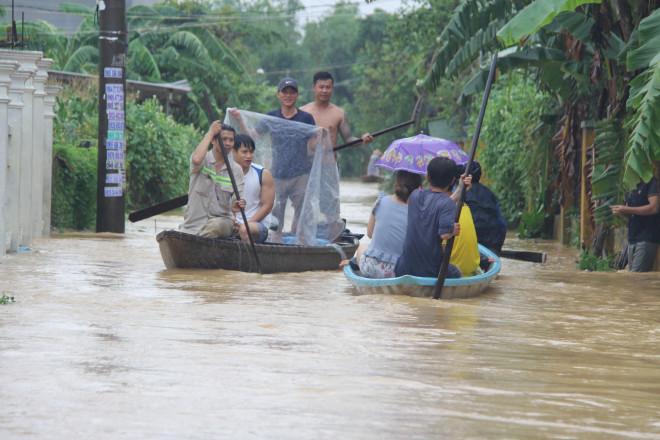 Quảng Nam mưa to, nước sông lên lại, dự báo lũ sẽ đặc biệt lớn - 1
