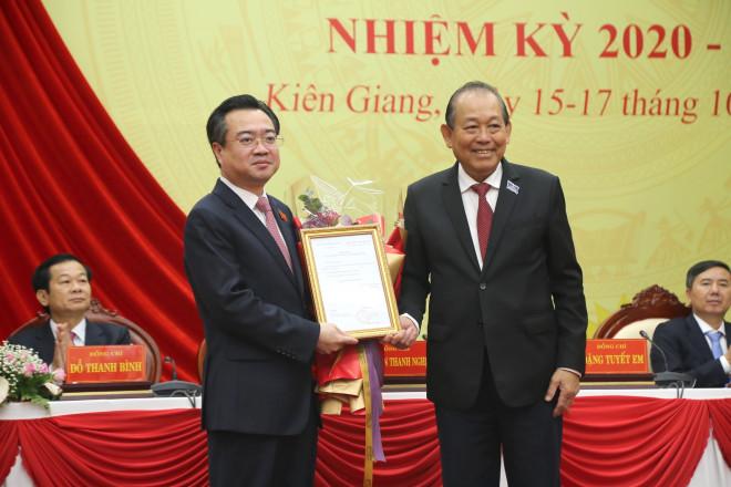 Trao quyết định bổ nhiệm Thứ trưởng Bộ Xây dựng cho ông Nguyễn Thanh Nghị - 1