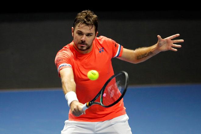 Medvedev bất ngờ bị loại, Wawrinka mơ danh hiệu đầu tiên tại giải tennis toàn sao - 1