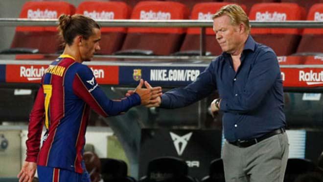 Griezmann trách móc vì phải nhường Messi ở Barca, Koeman đáp trả - 2