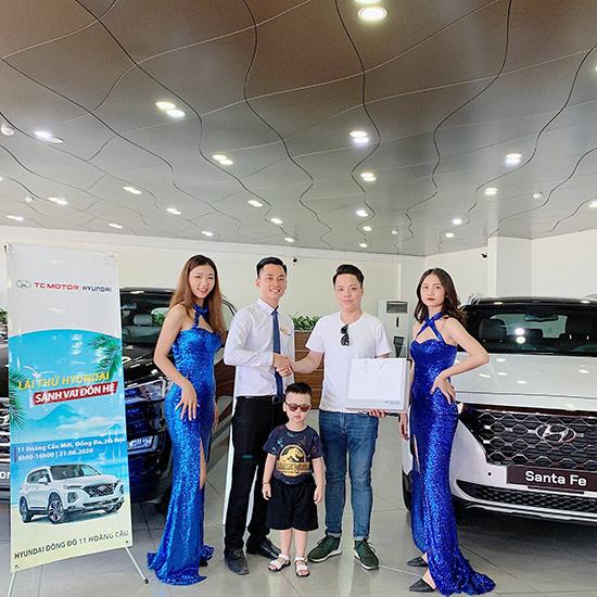 """""""Lái thử mừng sinh nhật vàng – rộn ràng quà tặng"""" tại Hyundai Đông Đô - 1"""