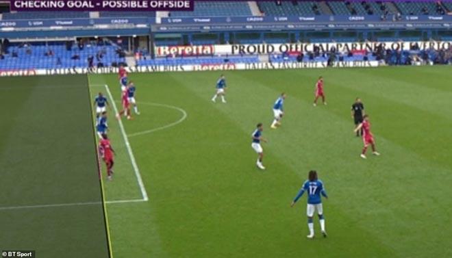 Liverpool bị cầm hòa: Báo Anh nghĩ Everton đáng bị 2 thẻ đỏ, Mane mất bàn thắng oan - 2