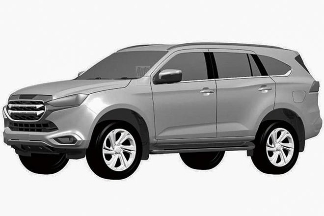 Xe SUV Isuzu mu-X thế hệ mới lộ thêm ảnh trước ngày ra mắt - 6