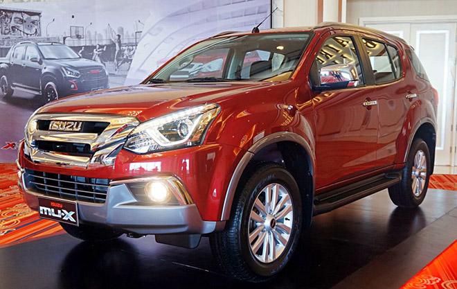 Xe SUV Isuzu mu-X thế hệ mới lộ thêm ảnh trước ngày ra mắt - 7