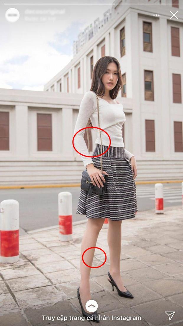 """Người đẹp có """"vòng eo nhỏ nhất"""" Hoa hậu Việt Nam lộ ảnh photoshop quá đà gây choáng - 1"""